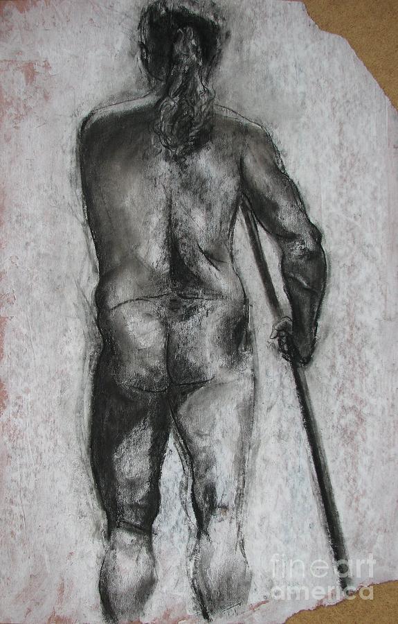 Nude Drawing - Venetian Nude by Julianna Ziegler
