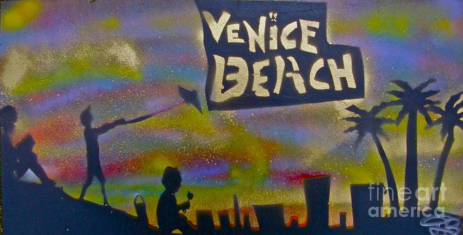 Mermaid Painting - Venice Beach Life by Tony B Conscious