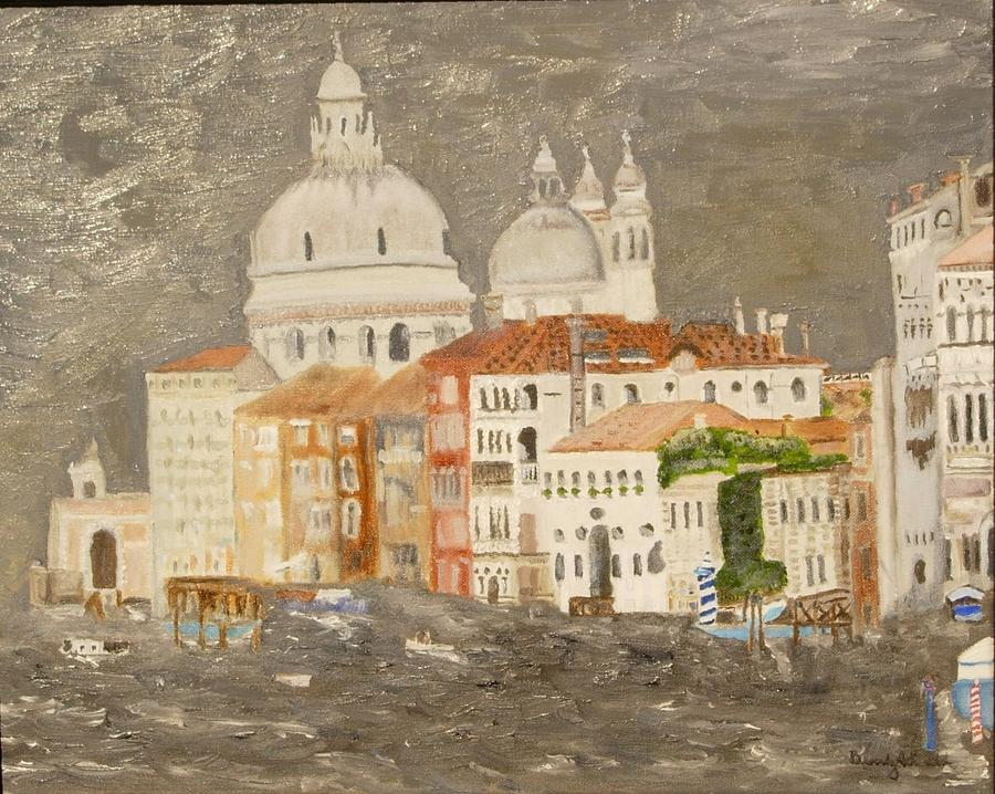 Abstract Painting - Venice by Beverly Smith