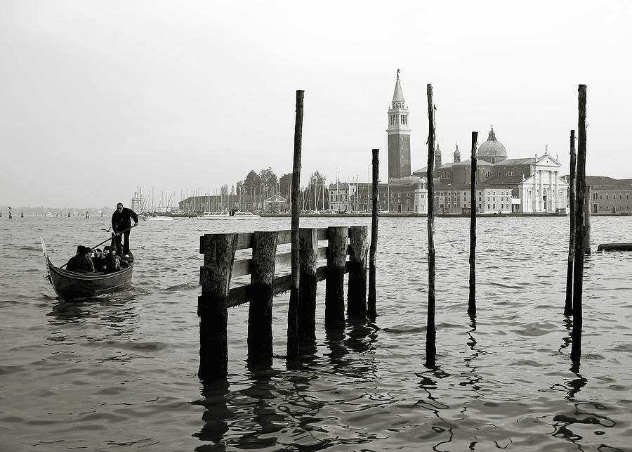 Venice Photograph - Venice Canal Grande II by Nina Papiorek