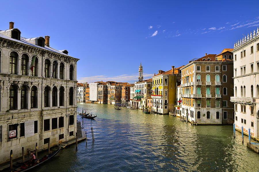 Venice Photograph - Venice Canale Grande by Travel Images Worldwide