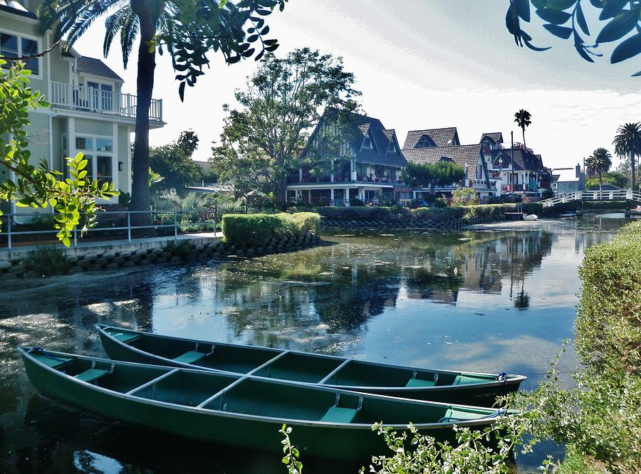 Venice Canals Photograph - Venice Canals  by Daniele Smith