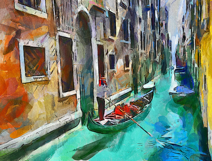 Venice Oil Paintings For Sale