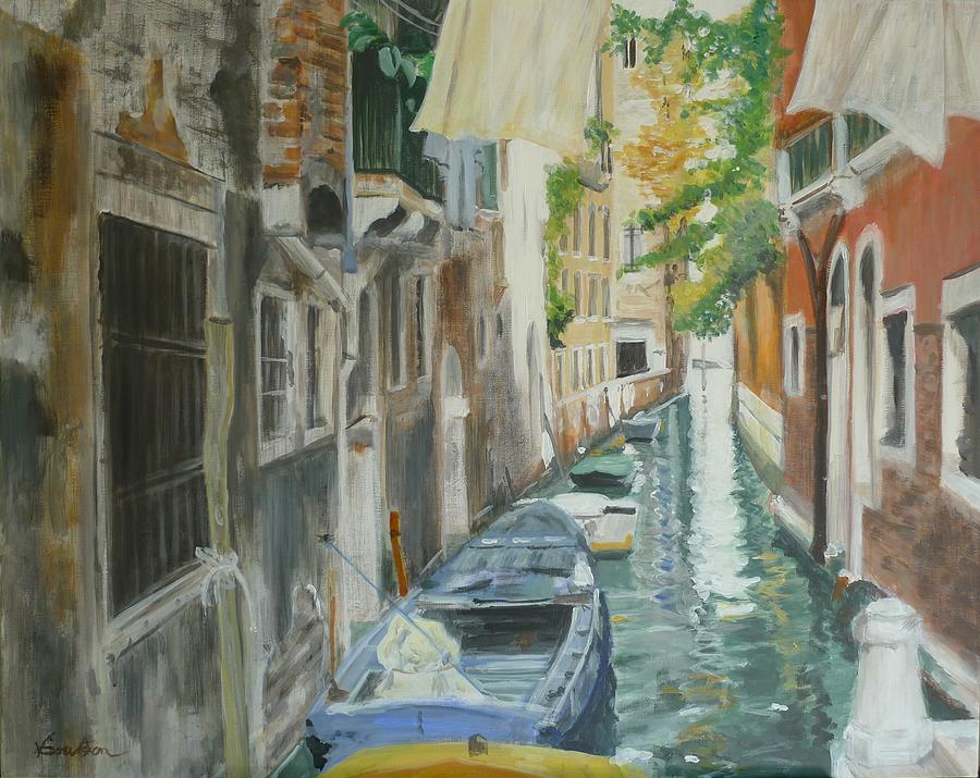 Architecture Painting - Venice Light by Veronica Coulston