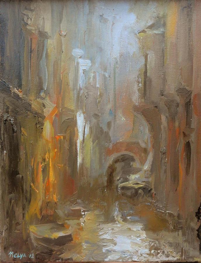 Painting Painting - Venice by Nelya Shenklyarska