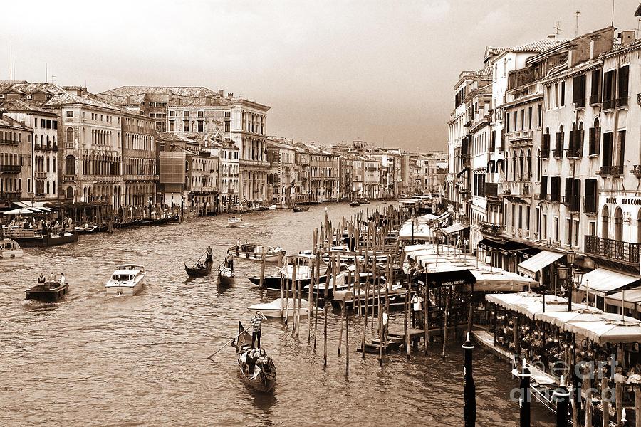Venice Photograph - Venice Vintage by Holger Ostwald