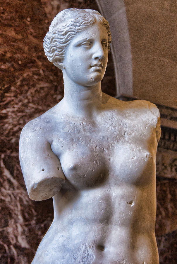 France Photograph - Venus De Milo by Jon Berghoff