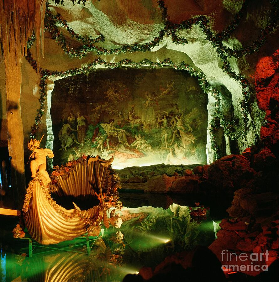 Germany Photograph - Venus Grotto by Serge Fourletoff
