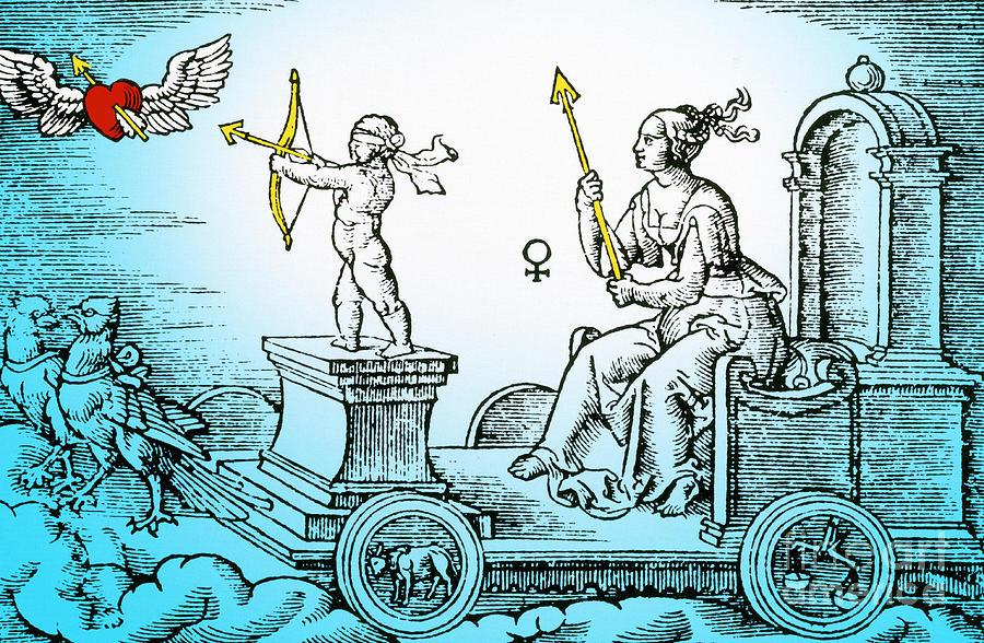 History Photograph - Venus, Roman Goddess Of Love by Photo Researchers