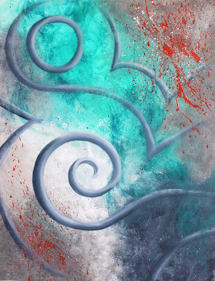 Canvas Prints Painting - Venus Sky by Reina Cottier