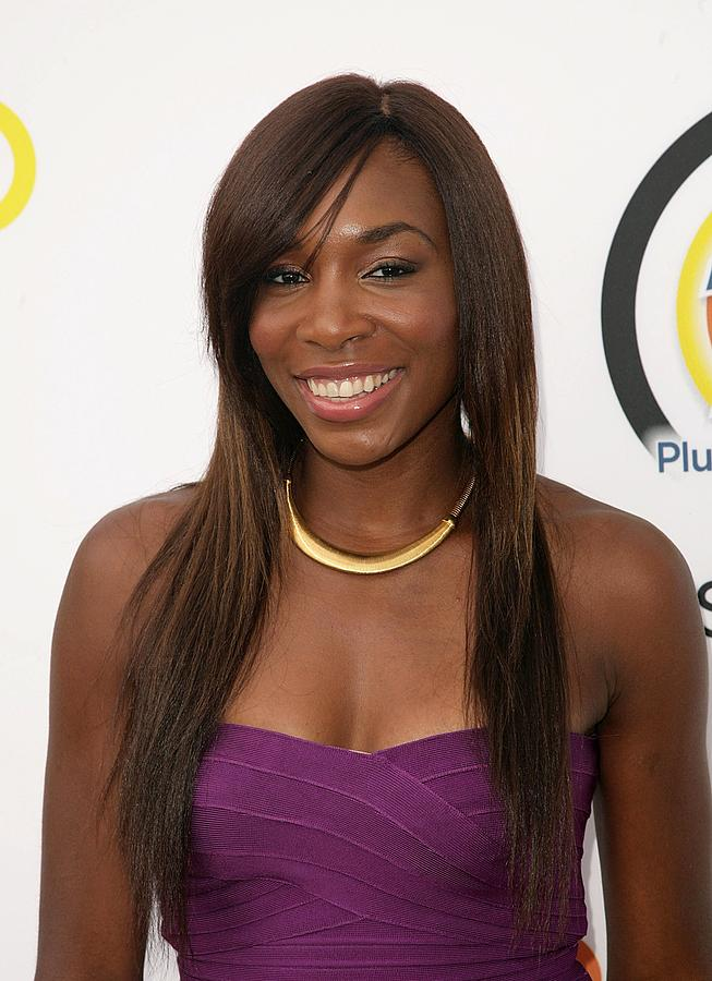 Venus Williams Photograph - Venus Williams In Attendance For New by Everett