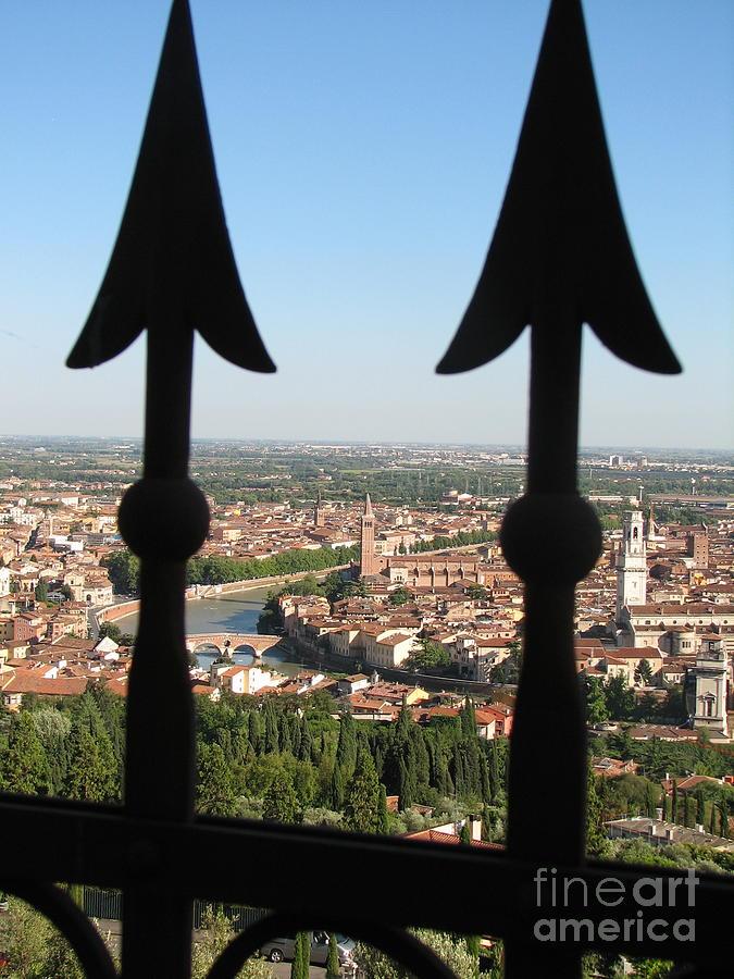 Capri Photograph - Verona- View by Italian Art