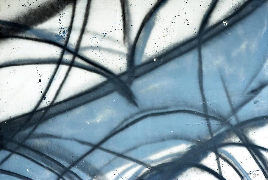 Abstract Painting - Verses by Chriss Pagani