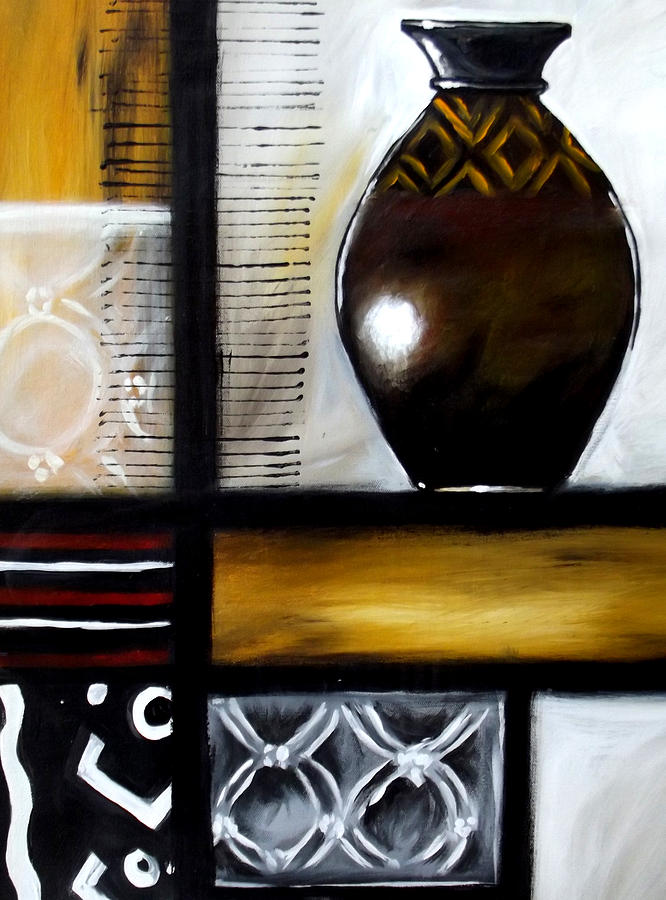 Oil Paintings Painting - Vessel 2 by Alonzo Butler