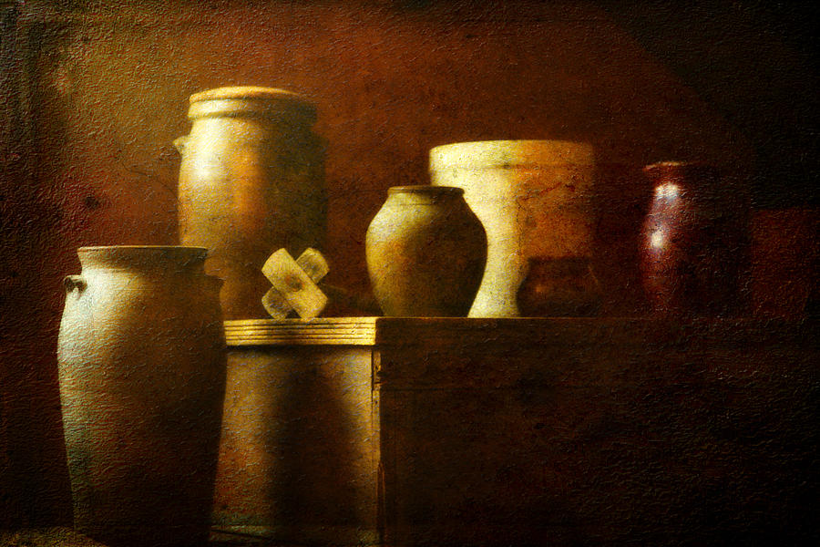 Still Life Photograph - Vessels by Sue Henry