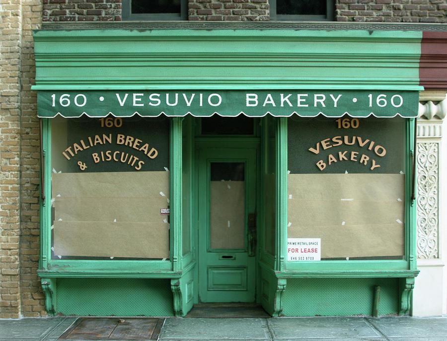 Storefront Sculpture - Vesuvio Bakery - New York Store Front Sculpture - Randy Hage by Randy Hage