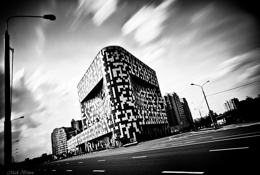 Architecture Photograph - Vet Square by Mark Britten