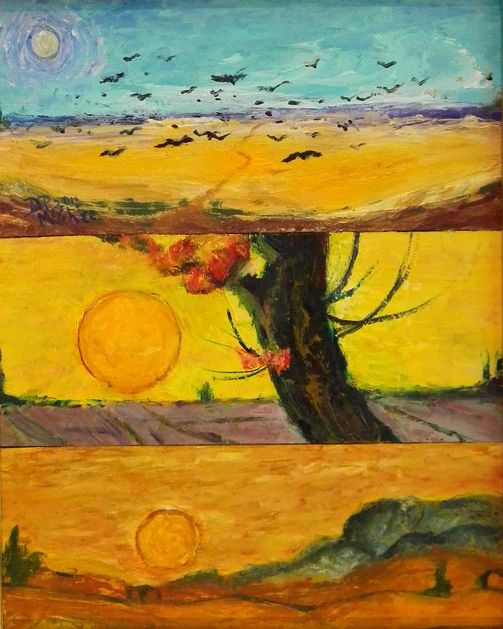 Sun Painting - VG3 by David McGhee
