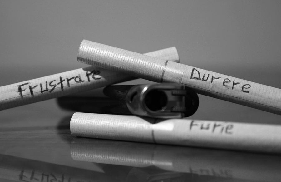 Cigarettes Pyrography - Vice by Darvas Balazs