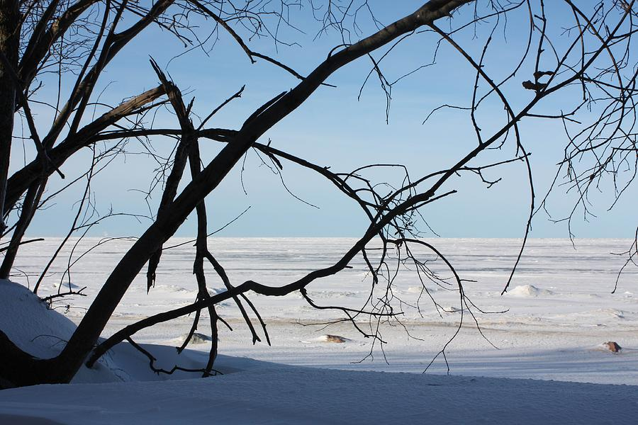 Winter Photograph - Victoria Beach Winter by Pat Purdy