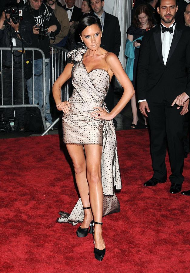 Victoria Beckham Photograph - Victoria Beckham Wearing A Marc Jacobs by Everett