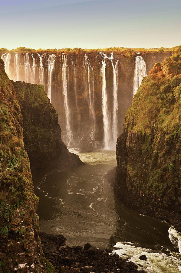 Vertical Photograph - Victoria Falls by Rob Verhoeven & Alessandra Magni