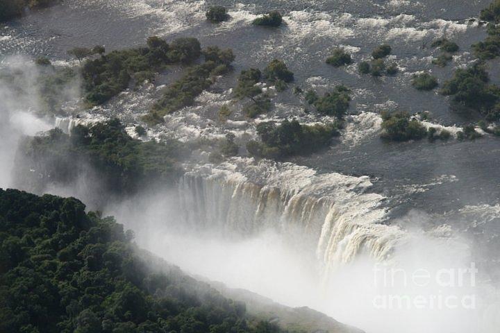 Victoria Falls Photograph - Victoria Falls Zambia by Carol Wright