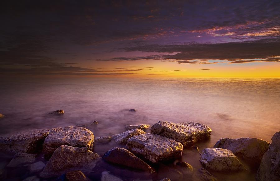 Beauty In Nature Photograph - Victoria Island, Nunavut, Canada by Darren Greenwood