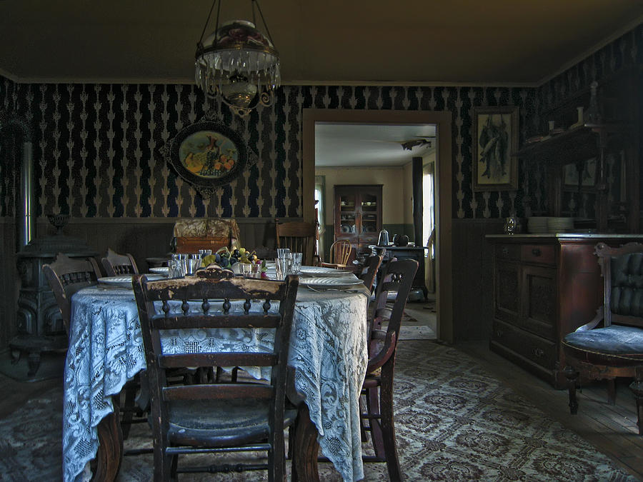 Victorian Photograph   Victorian Dining Room No. 2   Montana By Daniel  Hagerman