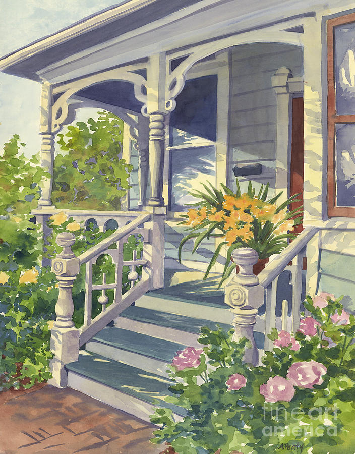 Paintings Of Victorian Houses