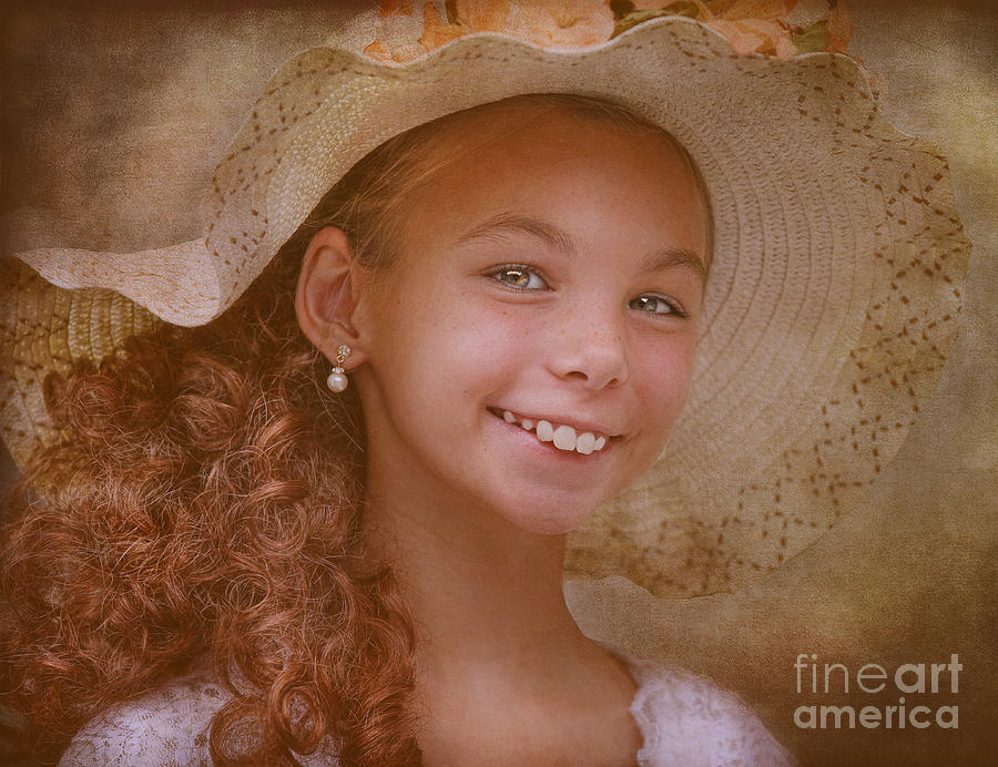 Portraits Photograph - Victorian Princess by Pat Abbott
