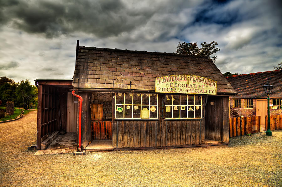 Hdr Photograph - Victorian Shop by Adrian Evans