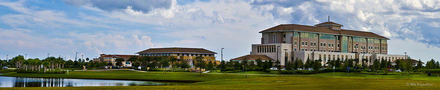 Florida Photograph - Viera Hospital by Mike Fitzgerald