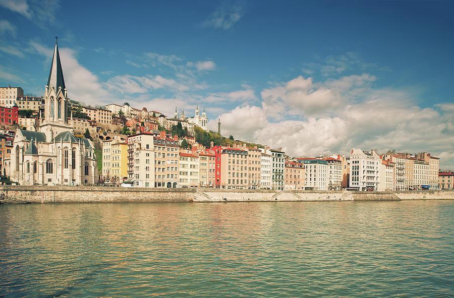 Horizontal Photograph - Vieux Lyon by Philipp Klinger