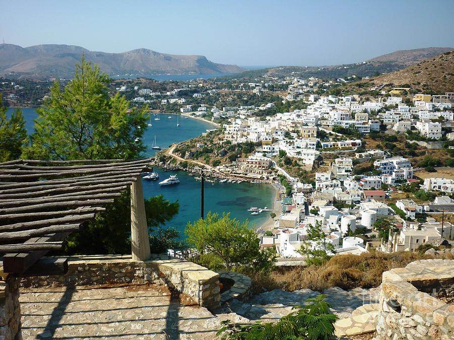 Greece Photograph - View From A Castle by Therese Alcorn
