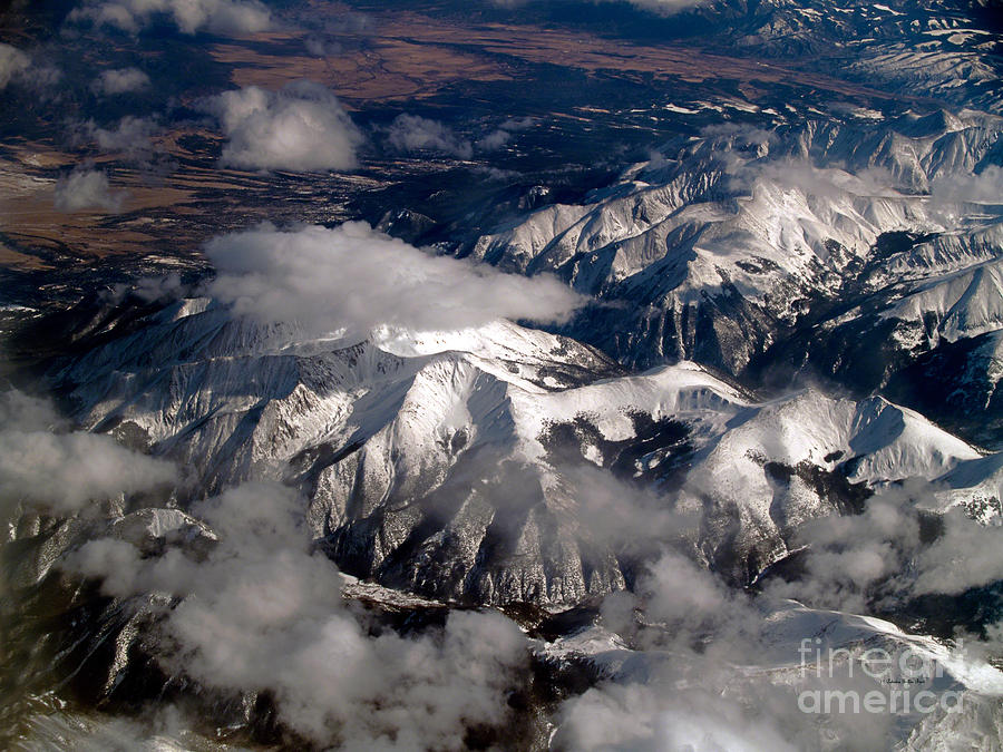 Aerial Photography Photograph - View From Above IIi by Patricia Griffin Brett