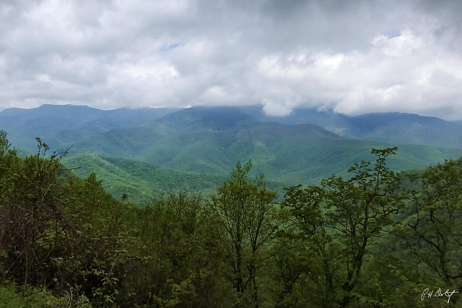 Appalachian Mountains Photograph - View From The Parkway by Phill Doherty