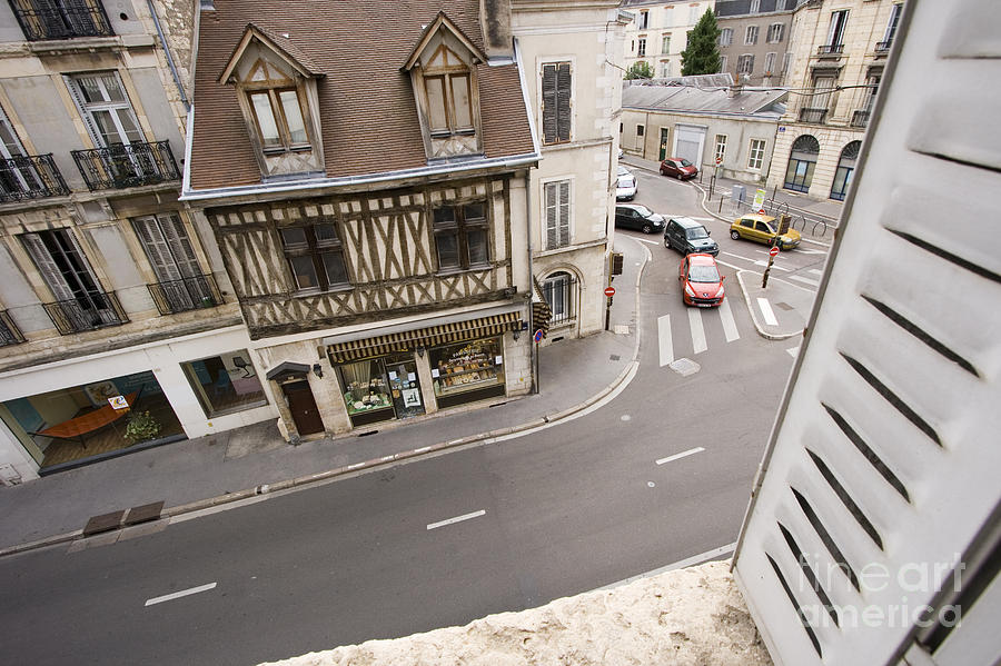 France Pyrography - View From Window   by Igor Kislev