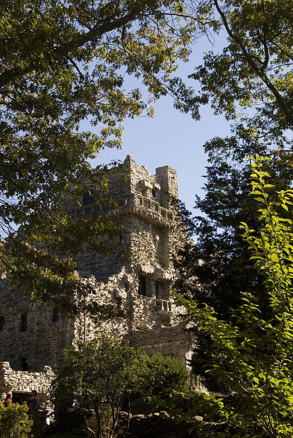Gillette Castle State Park Photograph - View Of Gillette Castle by Todd Gipstein
