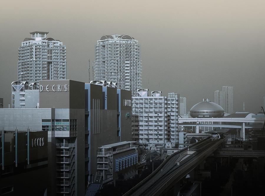 Tokyo Photograph - View Of Modern Tokyo by Naxart Studio