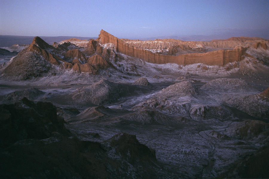 Scenes And Views Photograph - View Of The Valley Of The Moon by Joel Sartore