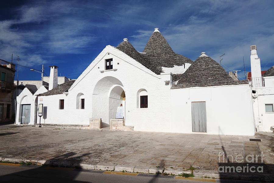 Alberobello Photograph - View Of Trullo Sovrano by Gualtiero Boffi