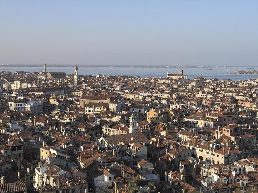 Italie Photograph - View Of Venice by Bernard Jaubert