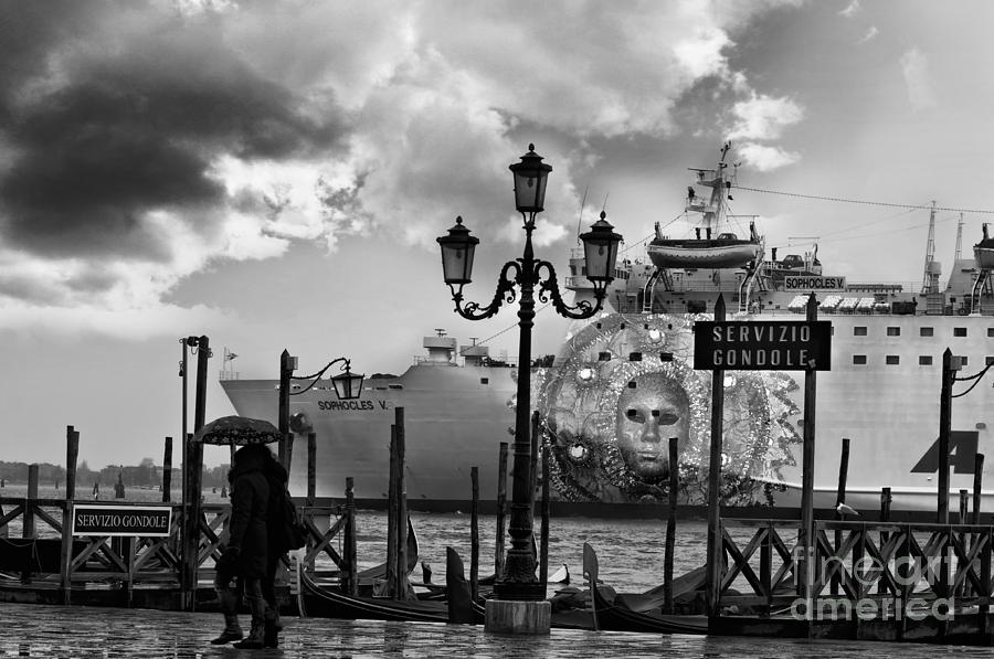 Venice Photograph - View On Canale Di San Marco In Venice by Design Remix