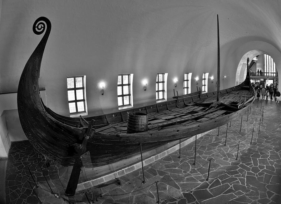 History Photograph - Vikingship by A A