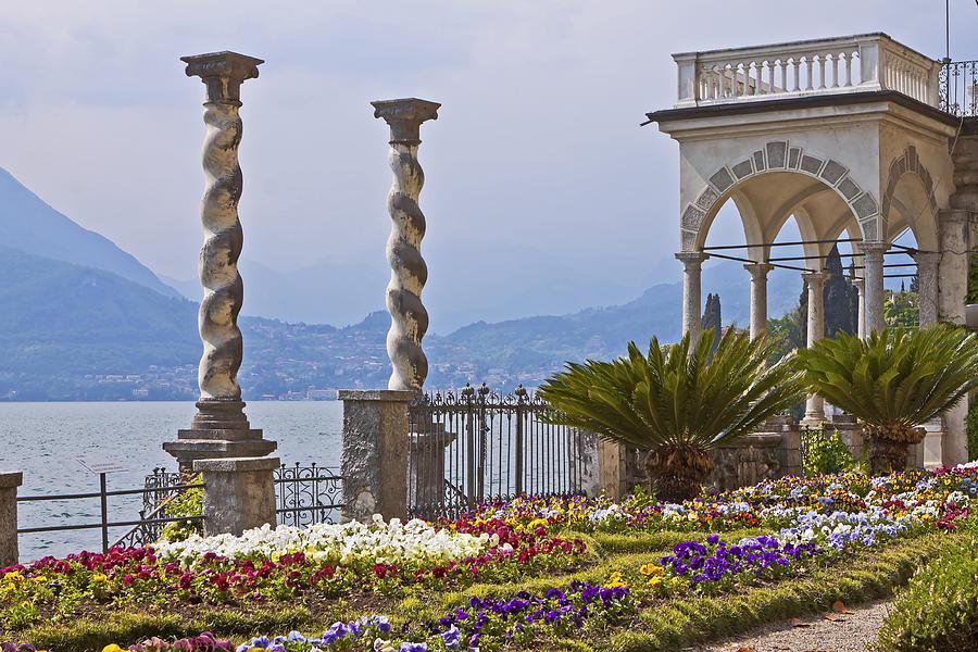 Travel Photograph - Villa Monastero - Varenna - Lago Di Como by Joana Kruse