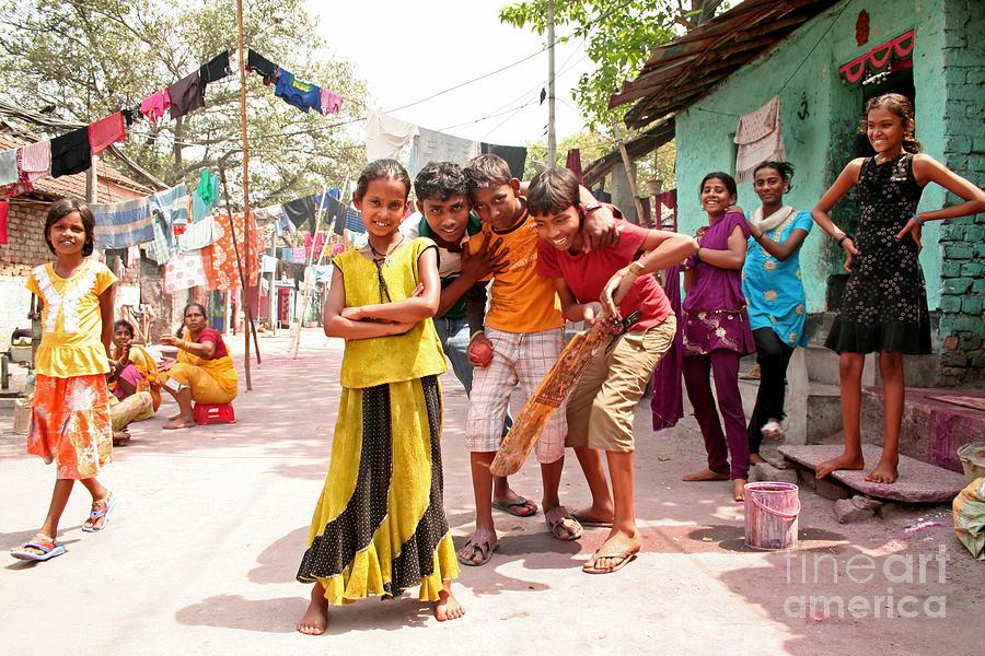 India Photograph - Village Cricket by David Wenman