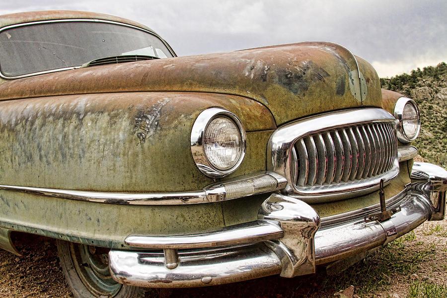 'front End' Photograph - Vintage 1951 Nash Ambassador Front End by James BO  Insogna