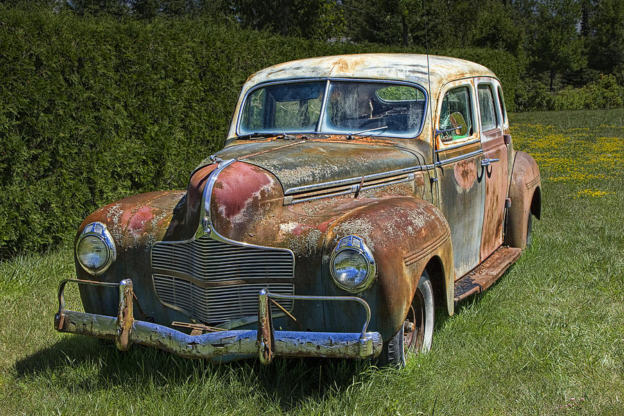 Vintage Automobile No.0488 Photograph by Randall Nyhof