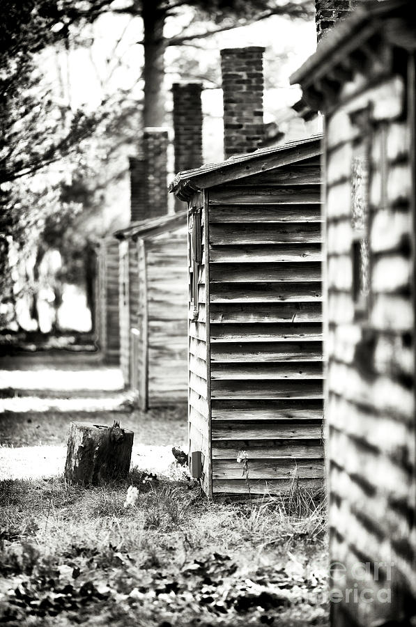 1800s Photograph - Vintage Cabins by John Rizzuto